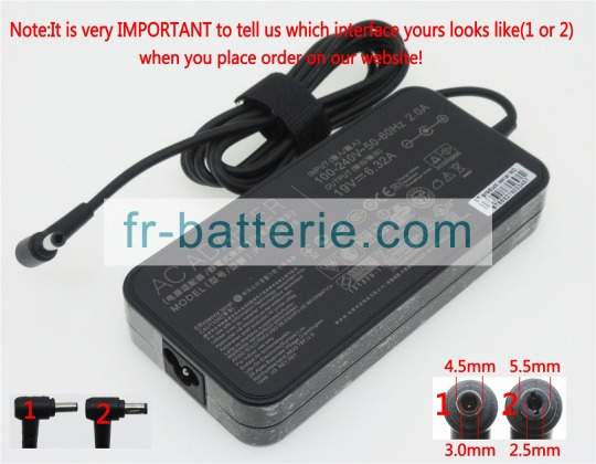 Ac adapter adp 120rh b