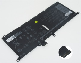 Dell ins 13-5390-d1725s 7.6V 45Wh batterie de ordinateur portable
